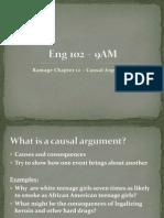 Marked9AMmonEng 102 WritingArgument Chapter12 Causal