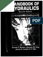 Handbook of Hydraulics h w King 1996