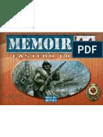 Memoir 44 Eastern Front Manual