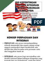 Analisis Kepentingan Perpaduan Dan Integrasi Dalam Konteks Hubungan (1)