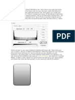Create New Document About 500X500 Pixels