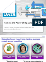 Harness the Power of Big Data Lawrence Weber