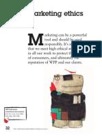 WPP CR Report 2011 Marketing Ethics