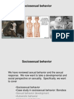 Primate Sexuality Sociosexual Behavior