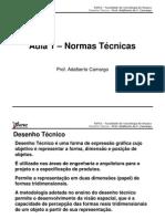 Desenho Técnico (1º Aula Teórica)
