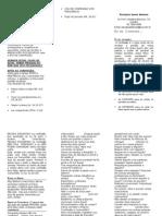 Folder para a preparação da Confissão