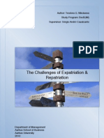 The Challeges of Expatriation and Repatriation