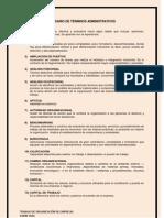 Glosario de Org. de Empresas