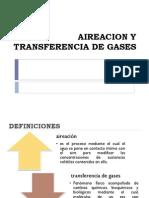 Aireacion y Transferencia de Gases 1