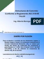 Diseño de Estructuras de Concreto Conforme al Reglamento ACI 318-05 TALLER
