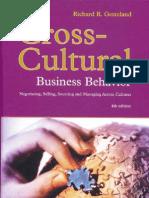 Richard R. Gesteland-Cross-Cultural Business Behavior_ Negotiating, Selling, Sourcing and Managing Across Cultures -Copenhagen Business School Press (2005)