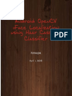 Android OpenCV Face detection