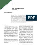 Examining the Reggio Emilia Approach