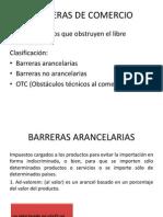 Barreras de Comercio