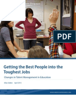 Getting the Best People into the Toughest Jobs