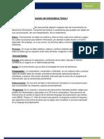 Resumen de Informática Tema I y II (Reparado)