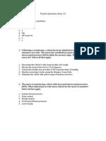 Practice Questions d'jour 1