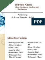 Case Kista Bartholini Dr.andri