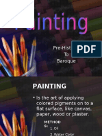 Painting Pre-Historic to Baroque