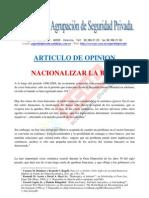 Nacionalizar La Banca Estudio