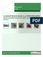 Inductive Proximity Switches By Parasnath Electronics Pvt Ltd