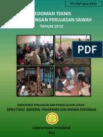Pedum Pendampingan Cetak Sawah 2012