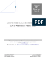 SOA for Web Services Pattern 2012