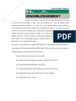1015 Internship Report HBL