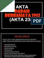 ADB1952 akta 234