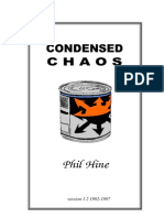 Phil Hine - Condensed Chaos