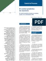 Control Predictivo de Reactores