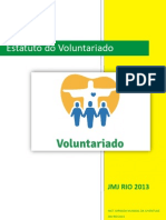 Estatuto Do Voluntariado