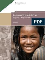 Gender Equality in Australian Aid Porgram