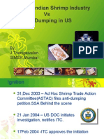 Shrimp dumping case