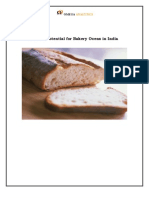 Market Potential for Bakery Ovens in India