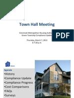 Greentownship Townhall Presentation