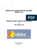 MANUAL MÓDULO RECURSOS HUMANOS - NISIRA v.2