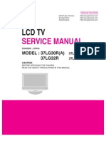Manual Servico Tv Lcd Lg26!32!37 42lg30r Chassis Lp81a