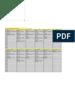 FY13 - In-House EHS Training Schedule (SGP)