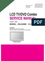 Manual Servico Tv Lcd Lg 32lg4000 32lg4000 Za Chassis Ld86a