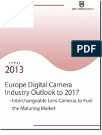 Interchangeable Lens Cameras to Become Focal Point of European Digital Camera Market