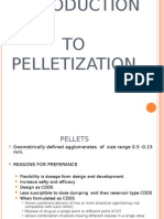 Introduction to Peletization and Sperunization