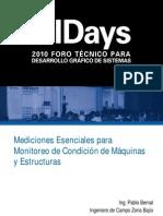 Mediciones Esenciales Para Monitoreo de Maquinas y Estructuras