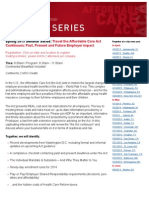 Health Care Reform Proskauer Seminar