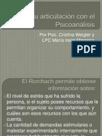 6ta sesión Estructuras Psicopatológicas en el Rorchach