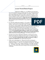 Holocaust Novel Project