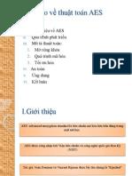 Báo cáo về thuật toán AES