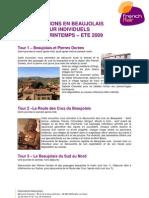 Excursions en beaujolais 2009