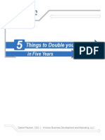 5 Thing to Double Income in Biz