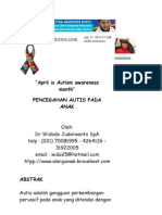 Pencegahan Autis Pada Anak